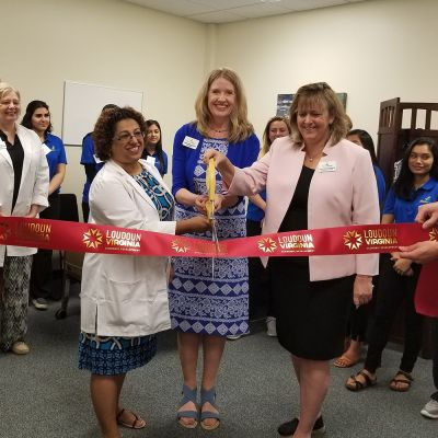 Moon River Nursing Careers Ribbon Cutting