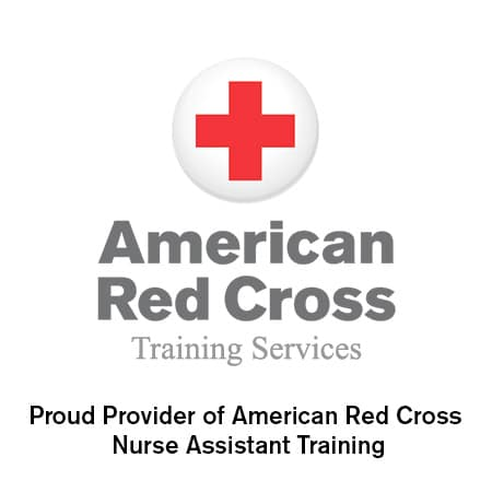 Proud Provider of American Red Cross Nurse Assistant Training