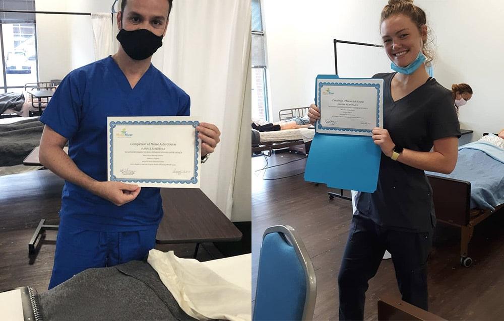 CNA Classes in Ashburn VA at Moon River Nursing Careers