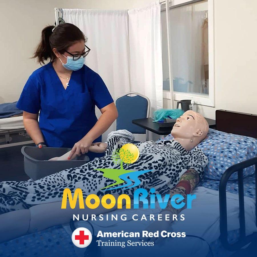 Nurse Aide Training at Moon River Nursing Careers in Ashburn Virginia