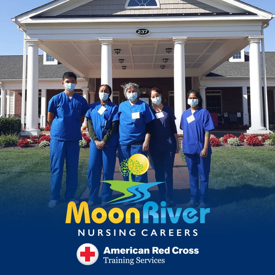 clinical training at a long-term care facility in Leesburg, VA - Moon River Nursing Careers